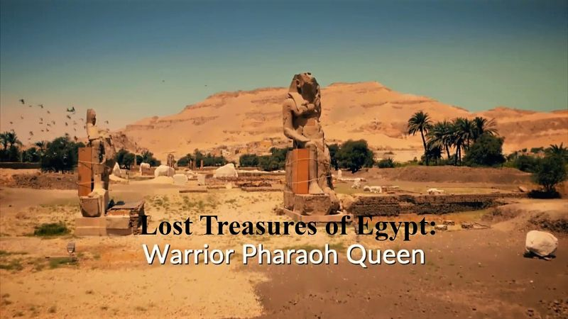 Image: Lost-Treasures-of-Egypt-Series-1-Part-5-Warrior-Pharaoh-Queen-Cover.jpg
