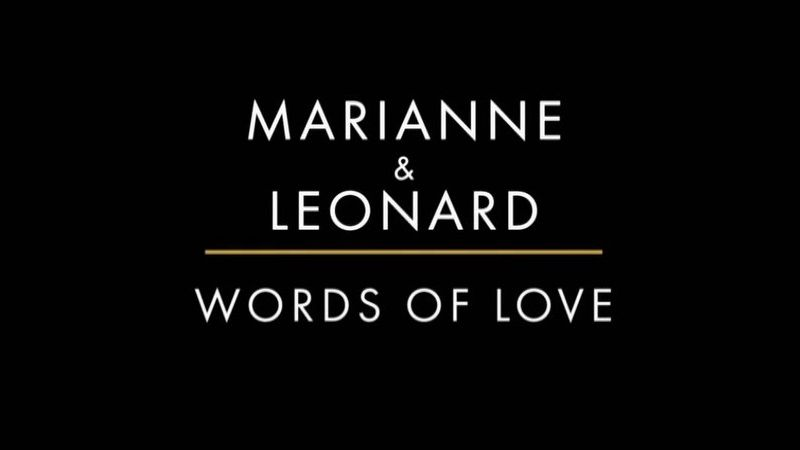 Image: Marianne-and-Leonard-Words-of-Love-Cover.jpg