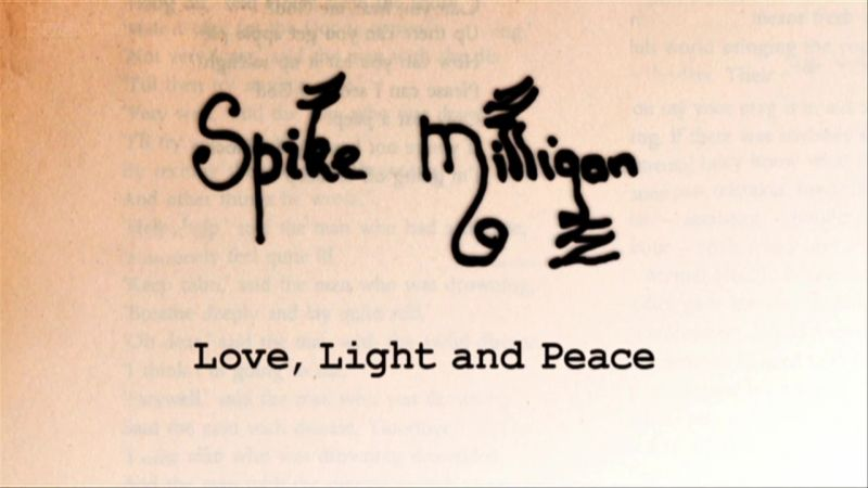 Image: Spike-Milligan-Love-Light-and-Peace-Cover.jpg