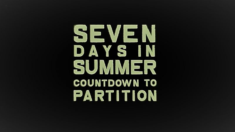 Image: Seven-Days-in-Summer-Countdown-to-Partition-Cover.jpg